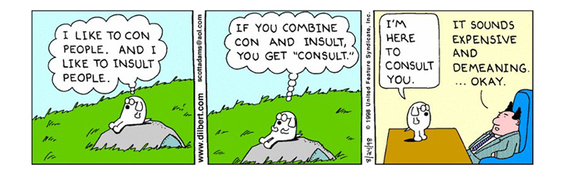 Dilbert-Dogbert-Consultant